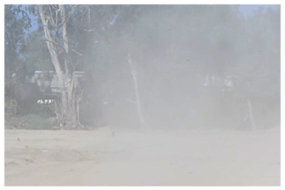 Dust Control Image - Construction site - Corona California