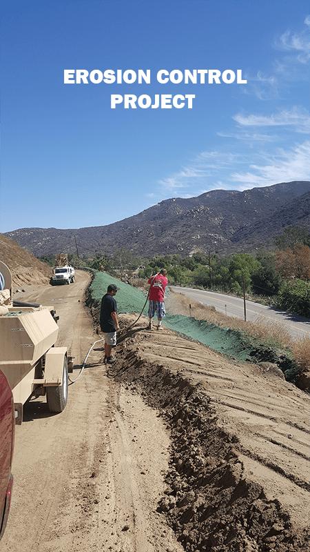Erosion Control Work Image