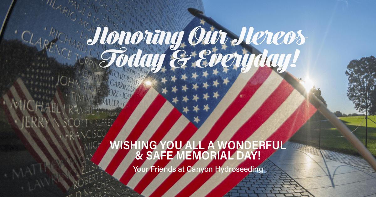 Memorial Day Greeting 2018